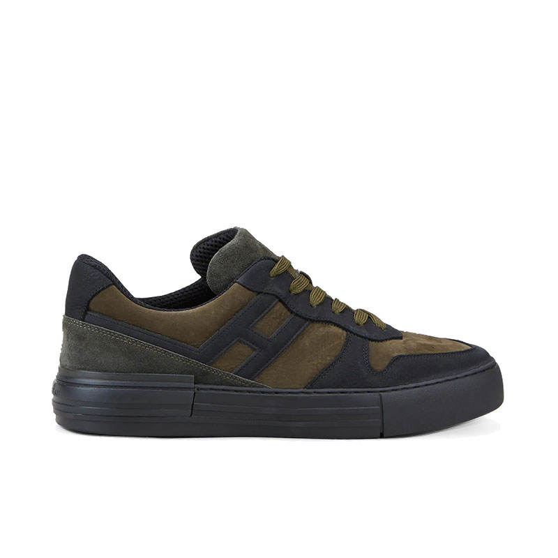 hogan sneakers Sneakers RebelCASSETTA REBEL 2 - NUBUCK - NOIR