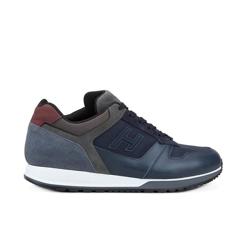 hogan sneakers Sneakers H321HH BASKETS H321 - NUBUCK, TOILE