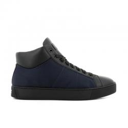 santoni sneakers Sneakers EcoNEW GLORIO 5 RECYCLE - CUIR ET T