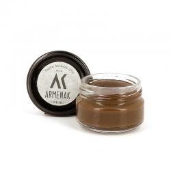saphir cirages & crèmes Crème pour cuirPOMMADIER - CRÈME - MARRON MOYEN