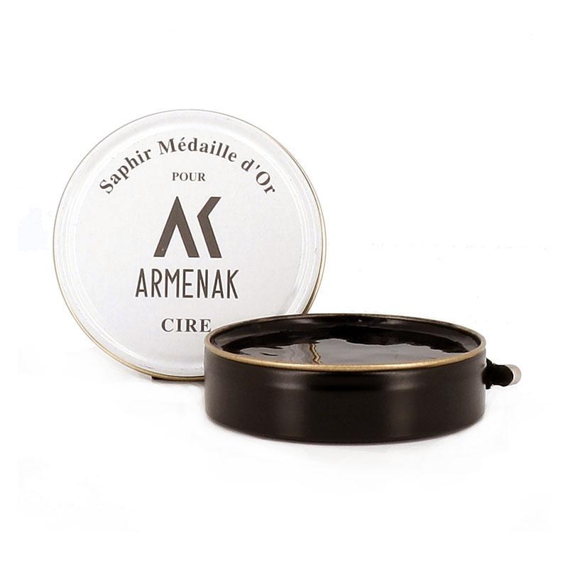 Armenak cirages & crèmes CirageCIRE D'ABEILLES - MARRON FONCÉ