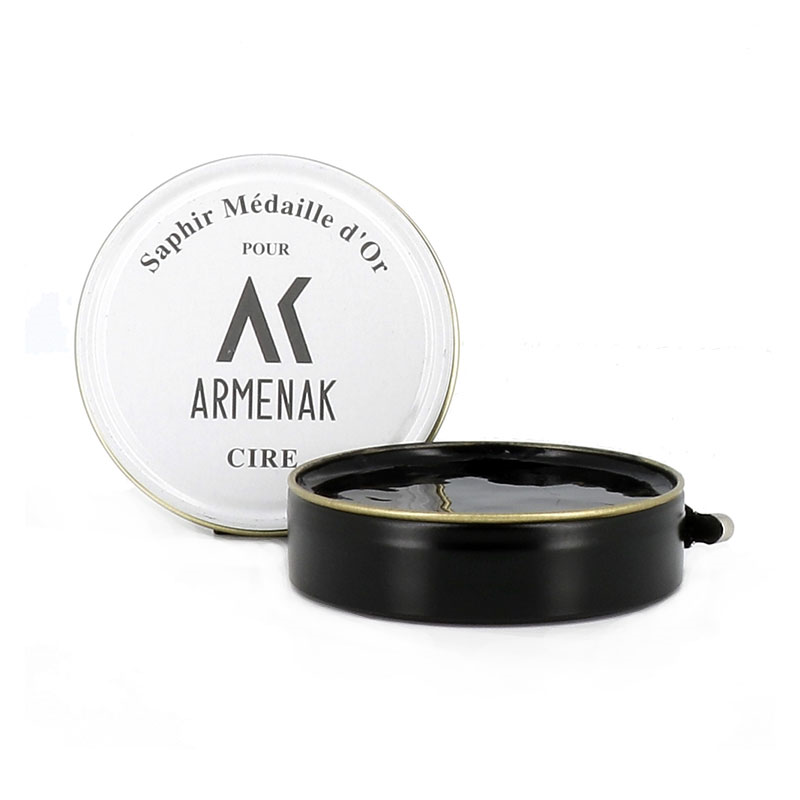 Armenak cirages & crèmes CirageCIRE D'ABEILLES - NOIR