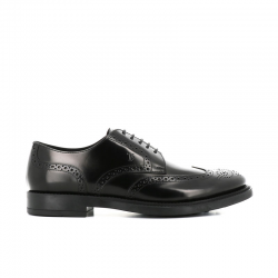 tod's derbies et richelieux Derbies à perforationsBARON 3 - CUIR GLACÉ - NOIR