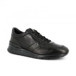 tod's nouveautés sneakers SneakersRUN NEW BAS - CUIR - NOIR