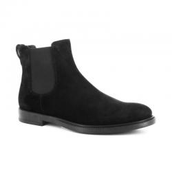 tod's nouveautés boots et bottillons Bottines à élastiquesBASTON 3 - NUBUCK - NOIR