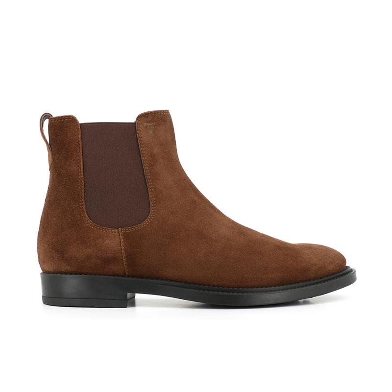 tod's boots et bottillons Boots à élastiquesBASTON 3 - NUBUCK - NOISETTE