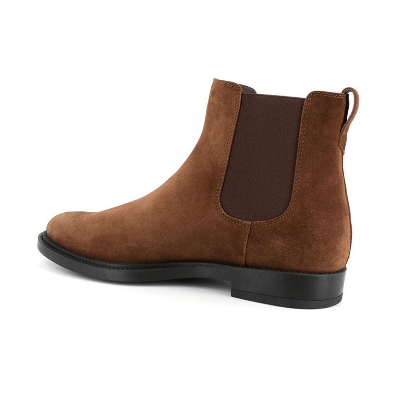 Tod's nouveautés boots et bottillons Boots à élastiquesBASTON 3 - NUBUCK - NOISETTE