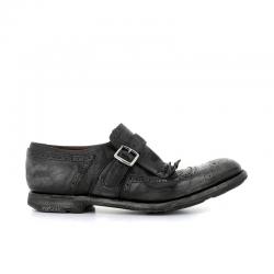 church's nouveautés chaussures à boucles shanghaiSHANGHAI - CUIR GLACÉ CALF - BLA