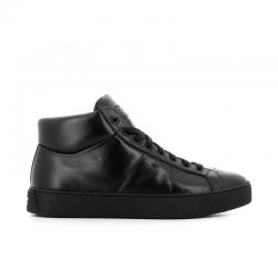 santoni nouveautés sneakers Sneakers GloriaNEW GLORIO 5 - CUIR - NOIR