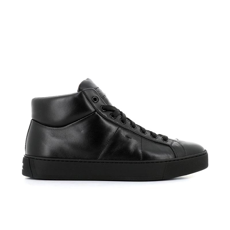 santoni sneakers Sneakers GloriaNEW GLORIO 5 - CUIR - NOIR