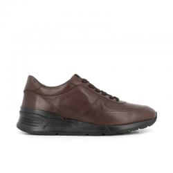 tod's nouveautés sneakers SneakersRUN NEW BAS - CUIR - MARRON