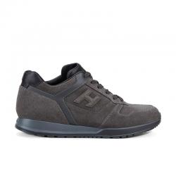 hogan nouveautés sneakers Sneakers H321HH BASKETS H321 - NUBUCK - GRIS