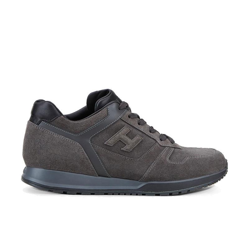 hogan sneakers Sneakers H321HH BASKETS H321 - NUBUCK - GRIS