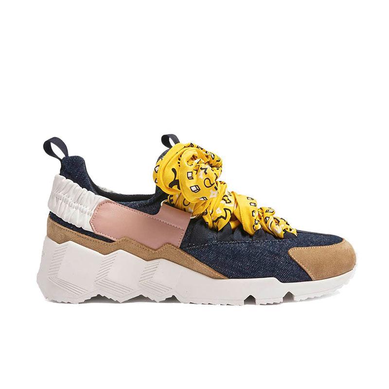 pierre hardy nouveautés sneakers Sneakers Trek CometPHF COMET F - NUBUCK, JEAN ET CU