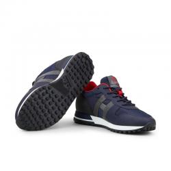 hogan nouveautés sneakers Sneakers H383HH H383 (1) - CUIR GOMMÉ ET TOIL