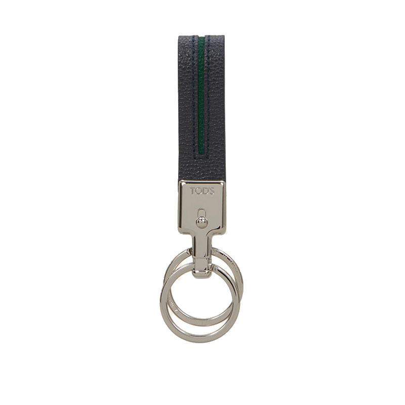 tod's porte-clés Porte-ClésTOD'S PORTE-CLÉS - CUIR GRAINÉ -