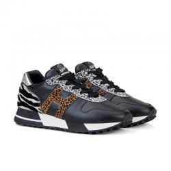 hogan nouveautés sneakers sneakers h383SNEAKERS H383 - CUIR ET NUBUCK I