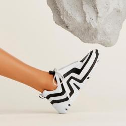 pierre hardy nouveautés sneakers Sneakers VibePHF VIBE F - CUIR - NOIR ET BLAN