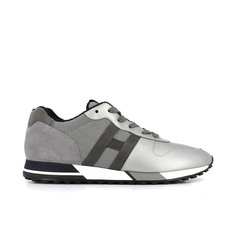 hogan sneakers Sneakers H383HH H383 (1) - CUIR GOMMÉ NUBUCK