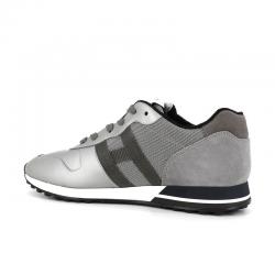 hogan nouveautés sneakers Sneakers H383HH H383 (1) - CUIR GOMMÉ NUBUCK