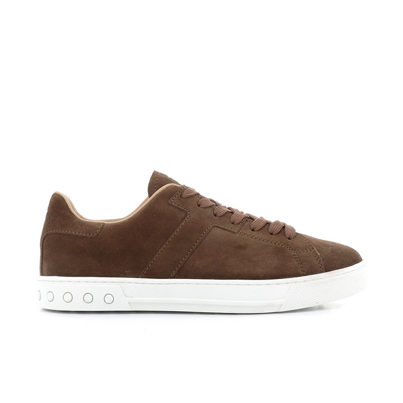 tod's sneakers SneakersSPORT 2 - NUBUCK - MARRON CLAIR