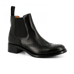 church's nouveautés bottines Bottines Estella RESTELLA R - CUIR NATURAL CALF -