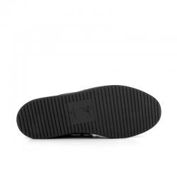 giuseppe zanotti nouveautés sneakers Sneakers FrankieGZ H FRANKIE - CUIR ET TOILE - G