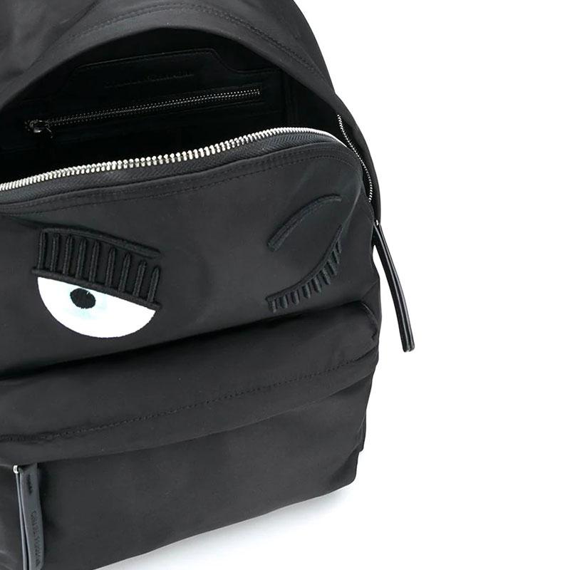 chiara ferragni promotions sacs à dos BackPackCF BACKPACK - TOILE - NOIRE
