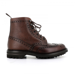 church's boots et bottillons Bottines à lacets Mc Farlane IIMC FARLANE 2 - CUIR - EBONY HIGH