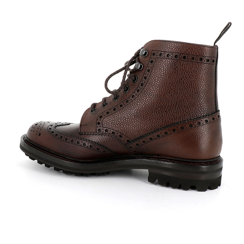 church's nouveautés boots et bottillons Bottines à lacets Mc Farlane IIMC FARLANE 2 - CUIR - EBONY HIGH