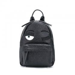 chiara ferragni sacs à dos BackPackCF BACKPACK SMALL - GLITTERS - N