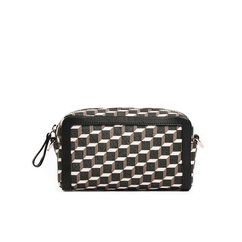 pierre hardy sacs nano BoxPHA CUBE BOX - TOILE ENDUITE - N