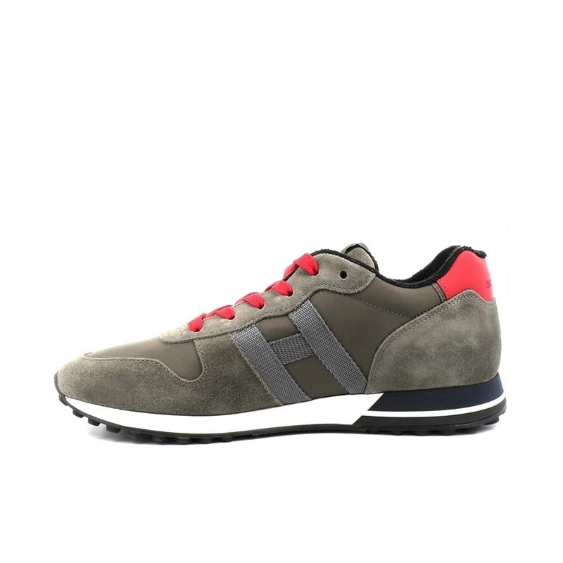 hogan sneakers Sneakers H383HH H383 (1) - NUBUCK ET TOILE -
