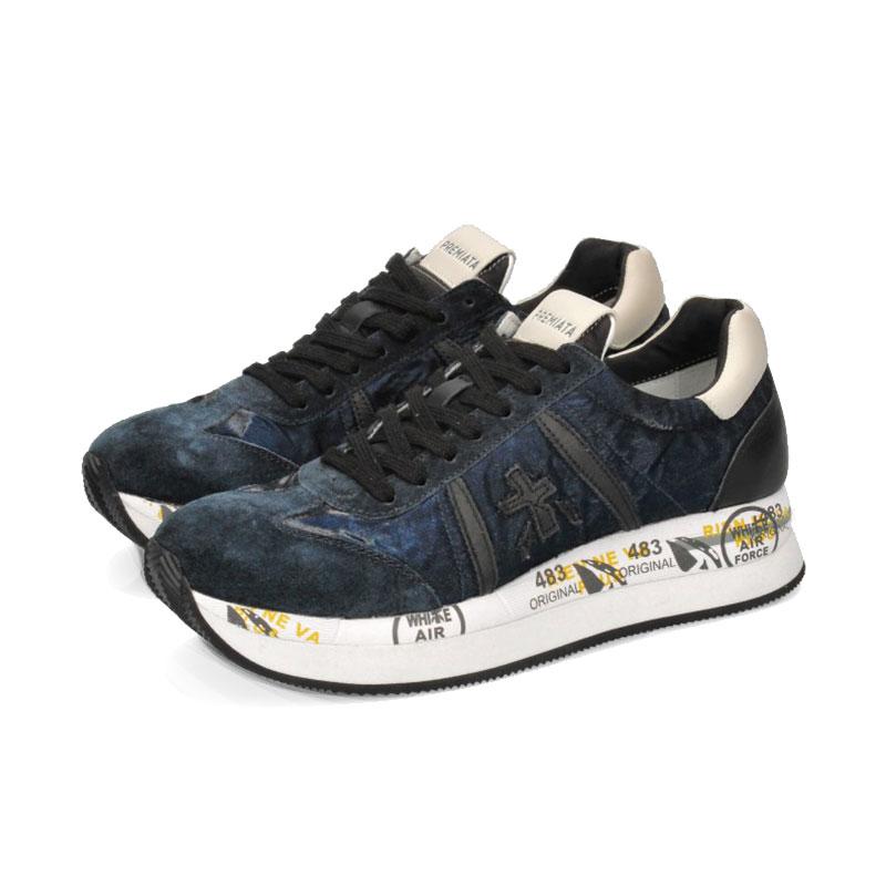 premiata nouveautés sneakers Sneakers ConnyPREMIATA F CONNY - NUBUCK, CUIR
