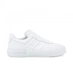 hogan sneakers Sneakers RebelCASSETTA REBEL 2 - CUIR - BLANC