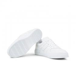hogan nouveautés sneakers Sneakers RebelCASSETTA REBEL 2 - CUIR - BLANC