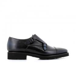santoni chaussures à boucles bohemian boucleBOHEMIAN BOUCLE - CUIR PATINÉ -