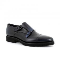santoni nouveautés chaussures à boucles bohemian boucleBOHEMIAN BOUCLE - CUIR PATINÉ -