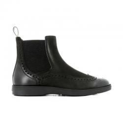 santoni boots et bottillons Boots DetroitDETROIT BOOTS - CUIR ET NUBUCK -