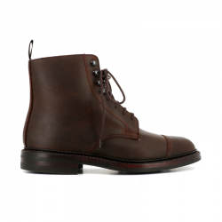 Crockett & Jones nouveautés boots et bottillons Bottines ConistonC&J CONISTON - SUEDE - DARK BROW