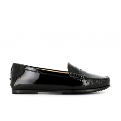 tod's mocassins & slippers Mocassins City GomminoBROKA - CUIR VERNI. - NOIR