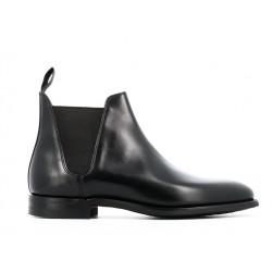 crockett & jones boots et bottillons Boots Chelsea VIIIC&J CHELSEA 8 - CUIR - NOIR