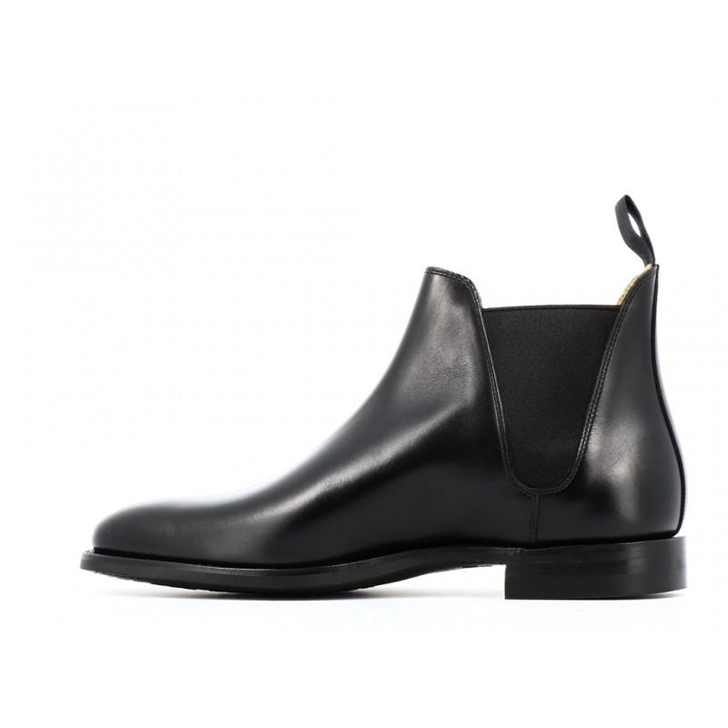 crockett & jones promotions boots et bottillons Boots Chelsea VIIIC&J CHELSEA 8 - CUIR - NOIR