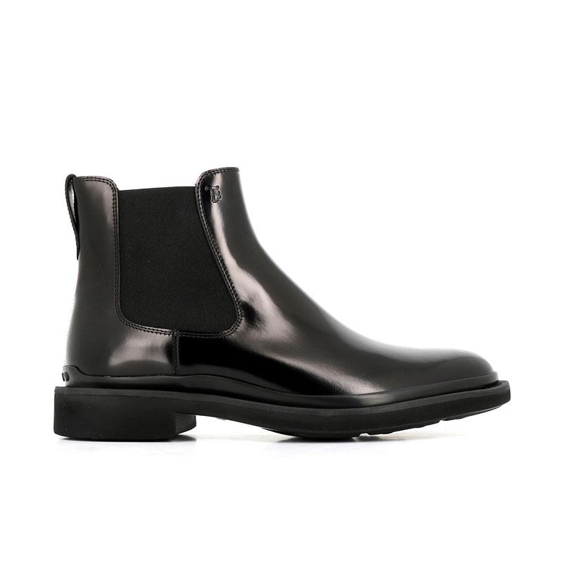 tod's boots et bottillons Bottines à élastiquesURBAN BOOTS - CUIR GLACÉ - NOIR
