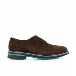 paul smith nouveautés derbies et richelieux Derby ChasePS DERB CHASE - NUBUCK - MARRON