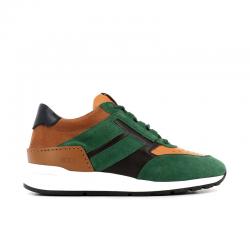 tod's sneakers SneakersRUN NEW BAS 2 - NUBUCK ET CUIR -