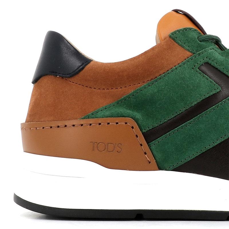 tod's nouveautés sneakers SneakersRUN NEW BAS 2 - NUBUCK ET CUIR -