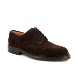 crockett & jones nouveautés derbies et richelieux Derbies PembrokeC&J PEMBROKE - SUEDE - OAK