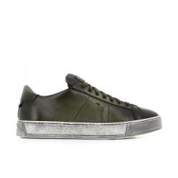 santoni nouveautés sneakers Sneakers GloriaNEW GLORIA 6 - CUIR PATINÉ - KAK