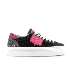 chiara ferragni nouveautés sneakers SneakersCF SNEAKER PATCH - NUBUCK GLITTE